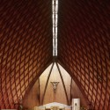 Photography: Mid-Century Modern Churches by Fabrice Fouillet Frres Sainsaulieus Notre Dame du Chene in Viroflay, France, completed in 1966. Image Fabrice Fouillet