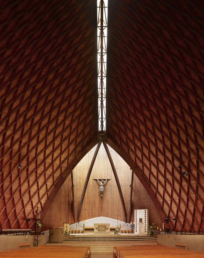 Photography: Mid-Century Modern Churches by Fabrice Fouillet