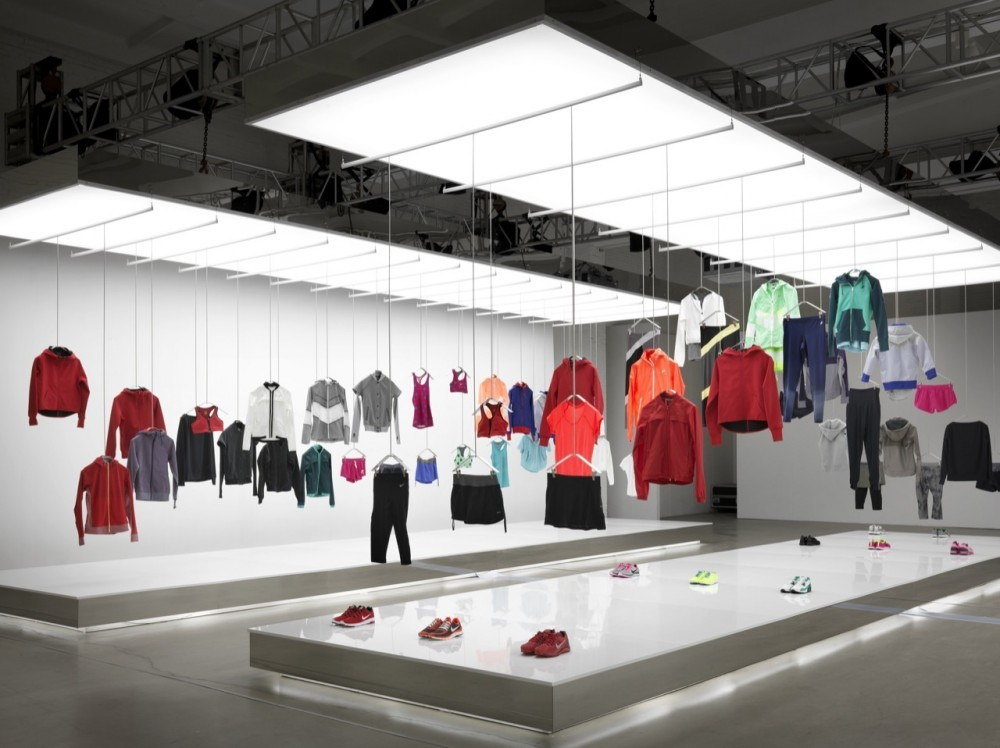 Nike Pop Up Showroom / Maggie Peng & Albert Tien