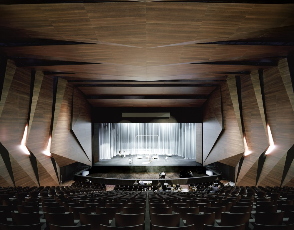 Festival Hall in Erl / Delugan Meissl Associated Architects