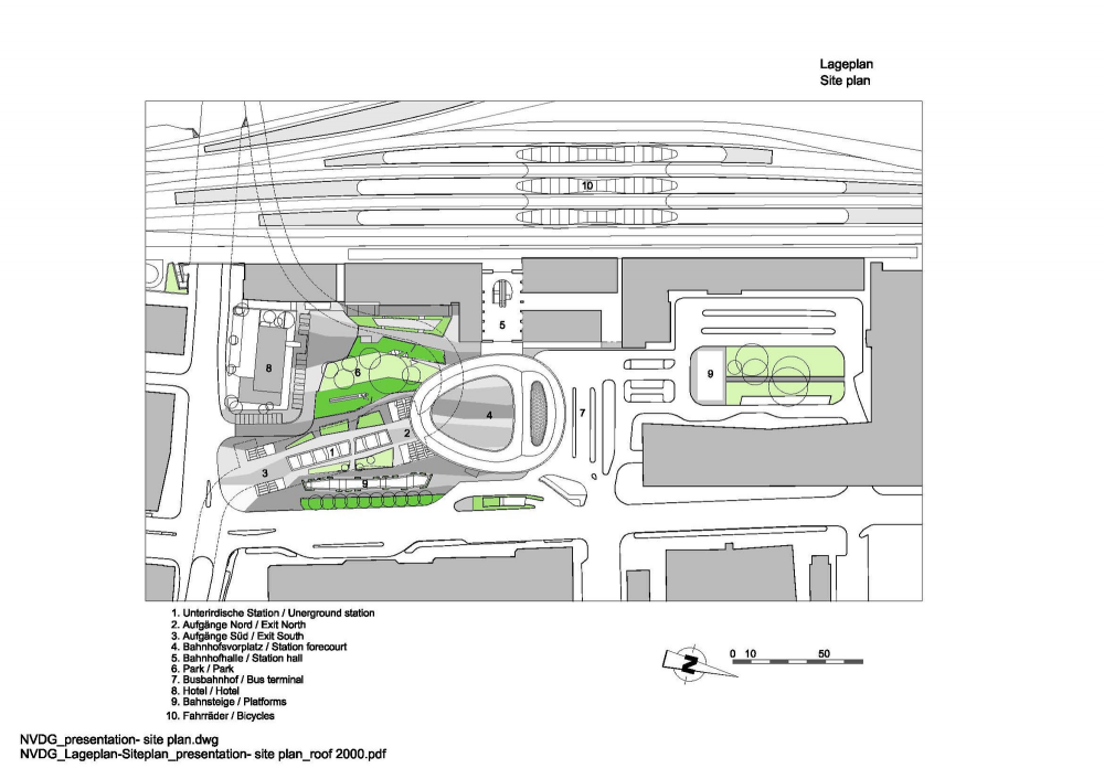 Graz Main Station Local Transport Hub / Zechner &#038; Zechner