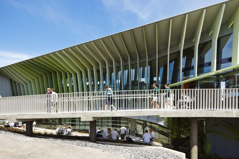 Knox Innovation Opportunity and Sustainability Centre / Woods Bagot
