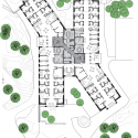 HELIX, Forensic Psychiatric Clinic of Stockholm / BSK Arkitekter Floor Plan