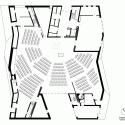 Iglesia doble para dos religiones / Kister Arquitectos Scheithauer brutos y urbanistas Plan de