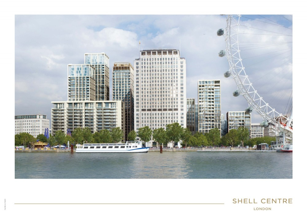 8 New Towers Proposed for London's South Bank