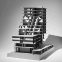 In Progress: Hotel IJDock / Bakers Architecten Model