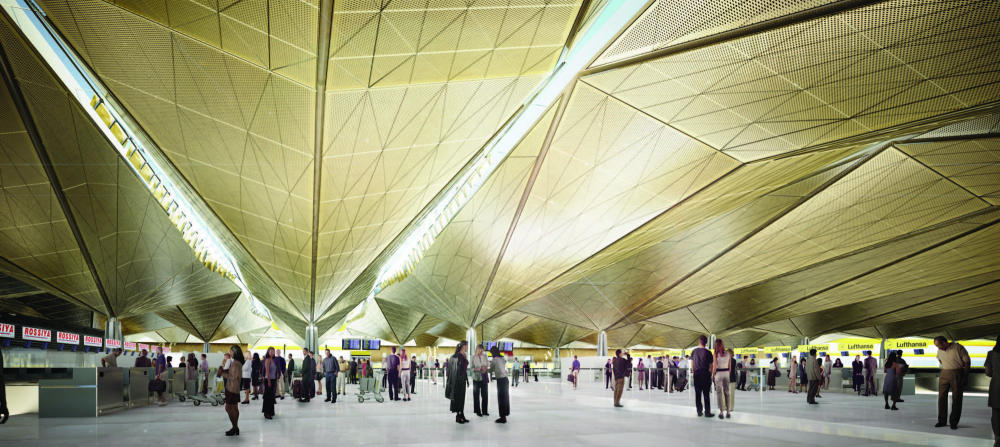 In Progress: Pulkovo Airport / Grimshaw Architects