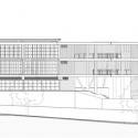 Institucion Educativa La Samaria / Campuzano Arquitectos North Elevation