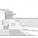 Institucion Educativa La Samaria / Campuzano Arquitectos West Elevation