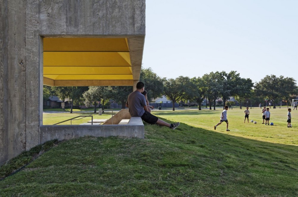 Webb Chapel Park Pavilion / Cooper Joseph Studio