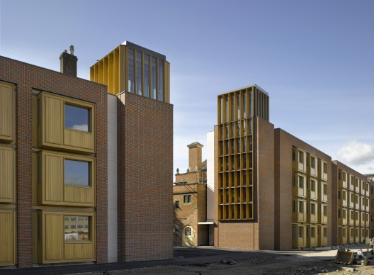 Student Accommodation, Somerville College / Nall McLaughlin Architects  Nick Kane