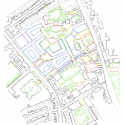Student Accommodation, Somerville College / Níall McLaughlin Architects Site Plan