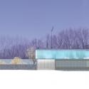 Burren House / Níall McLaughlin Architects Elevation