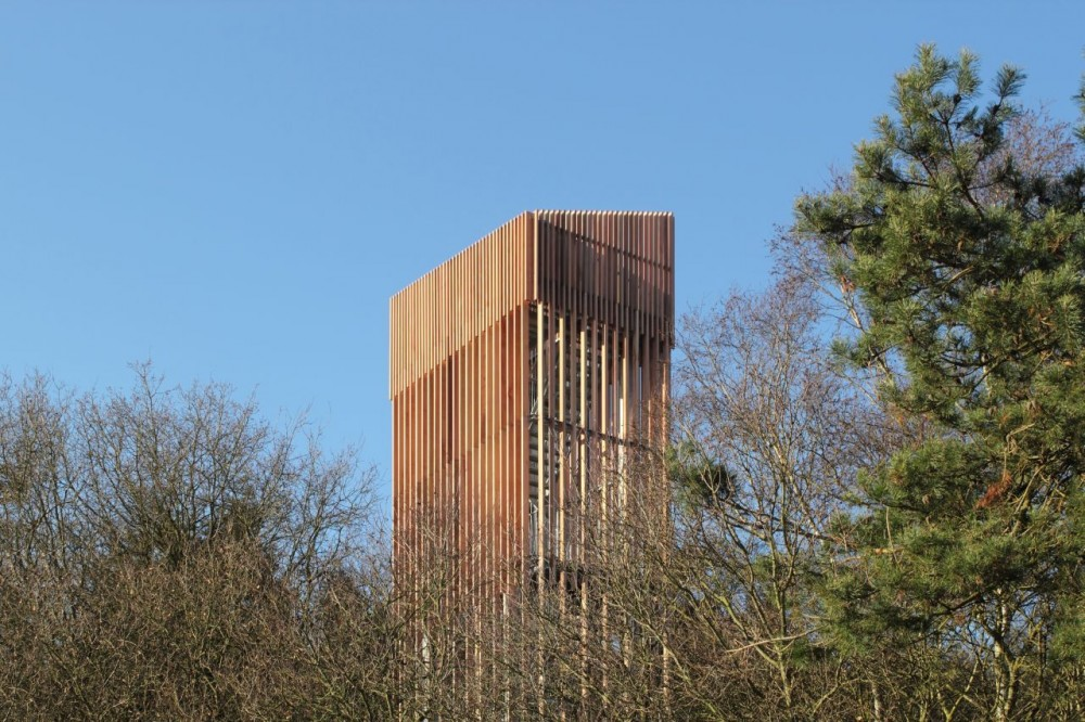 Viewingtower at Vecht Riverbank / Ateliereen Architecten