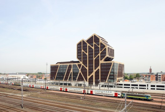 Hasselt Court of Justice / J. Mayer H. Architects + a2o architecten + LensAss architecten  Filip Dujardin
