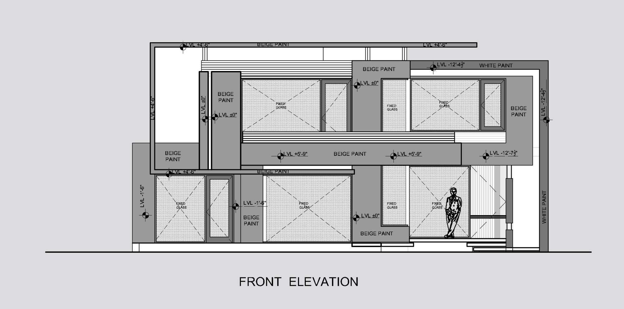 Building Front Elevation Drawings : Factory building front elevation joy studio design