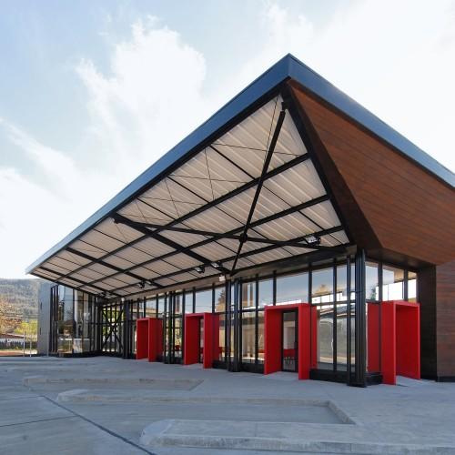 معماری ایستگاه قطار