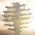 Phoenix Observation Tower / BIG Architects Courtesy of BIG