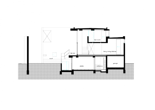 Floor Level Elevation : House in sakurajyosui general design arquitectura