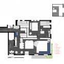 Loft no Itaim / FGMF Arquitetos Floor Plan