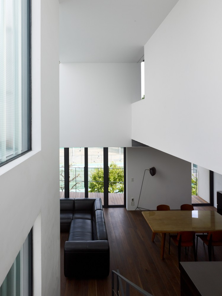 House in Higashiyama / General Design