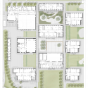 Crown Woods College / Nicholas Hare Architects Ground Floor Plan