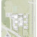 Crown Woods College / Nicholas Hare Architects Site Plan