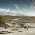 Jerusalem Museum of Nature &amp; Science Second Prize Winning Proposal (2) piazza /  Studio84