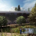 Jerusalem Museum of Nature &amp; Science Second Prize Winning Proposal (6) museum garden /  Studio84