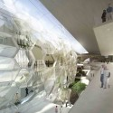 Jerusalem Museum of Nature &amp; Science Second Prize Winning Proposal (8) living wall /  Studio84