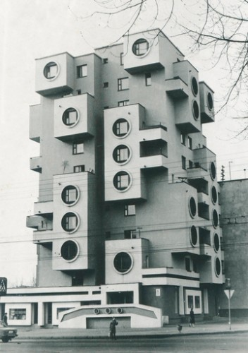 Residential building on Minskaya Street, 1980s, Bobruisk, Belarus  Belorussian State Archive of Scientific-Technical Documentation