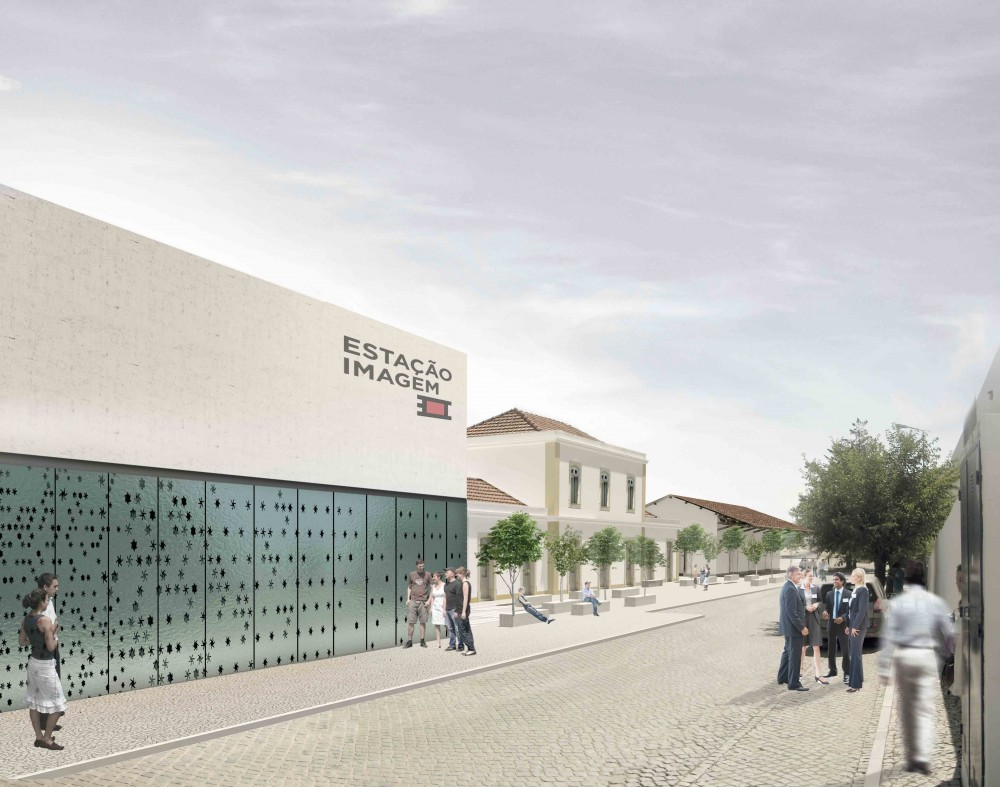 Refurbishment of the Old Railway Station of Mora First Prize Winning Proposal / CVDB Arquitectos + Tiago Filipe Santos