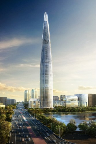 Lotte World Tower / KPF © image by dbox branding & creative