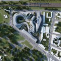 Zaha Hadid to Regenerate Historic Site in Belgrade (6) © ZHA