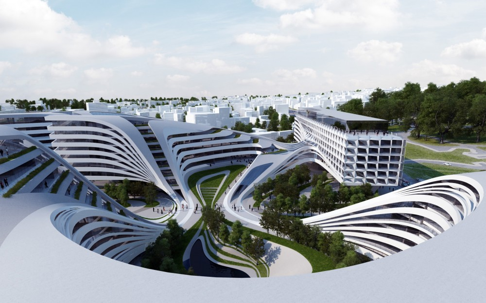 Zaha Hadid to Regenerate Historic Site in Belgrade