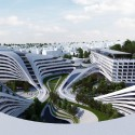 Zaha Hadid to Regenerate Historic Site in Belgrade (2) © ZHA