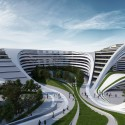 Zaha Hadid to Regenerate Historic Site in Belgrade (3) © ZHA