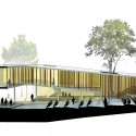 Yad Le'Banim Building Competition Entry - Cultural and Memorial Center (11) section 03