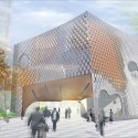 &#039;Open Exchange&#039; Green Square Library and Plaza Competition Entry (1) Courtesy of MODU