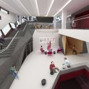 In Progress: The New School University Center / SOM (4) Fourth Floor Lounge © SOM