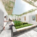 Innovative Bioclimatic European School Third Prize Winning Proposal (10) teaching garden