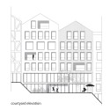 Parkhill Competition Winning Proposal (10) residential courtyard elevation