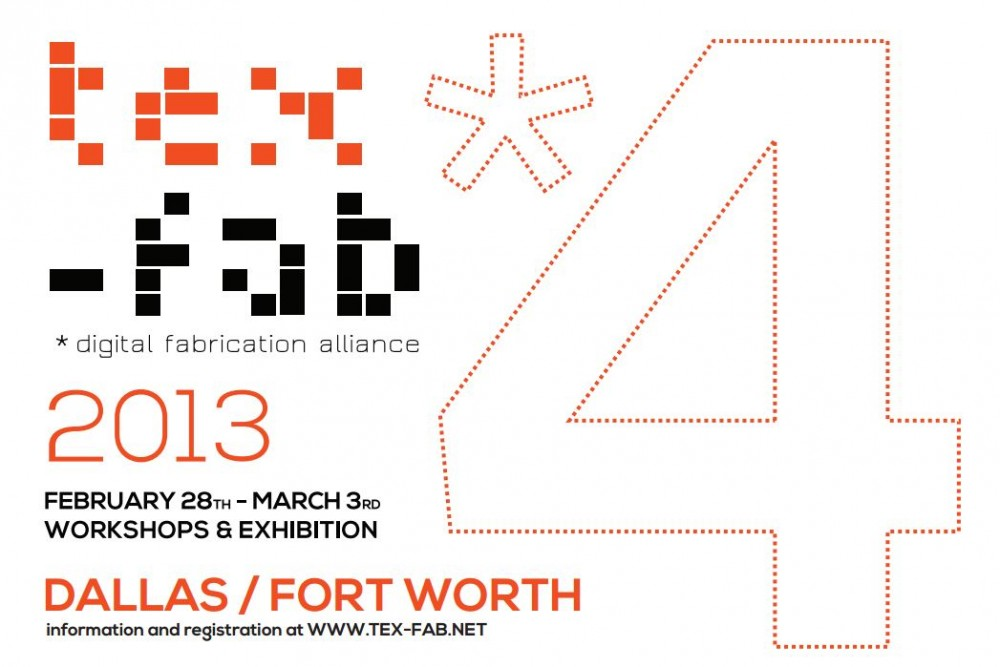 TEX-FAB 4 APPLIED Research Through Fabrication Conference