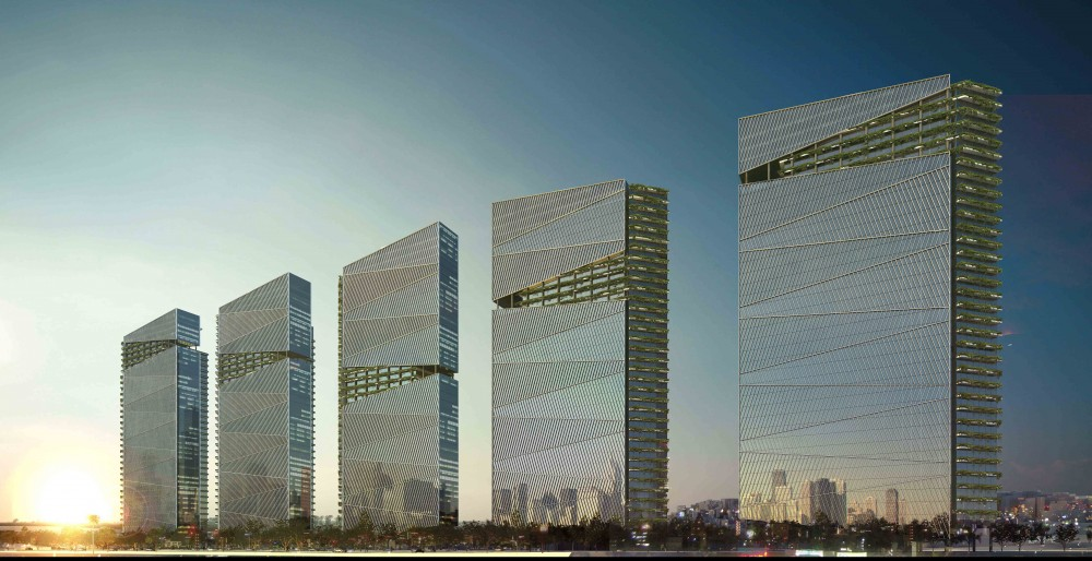 Trump Towers Proposal / Aflalo & Gasperini Arquitetos