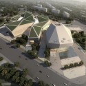 Huaihua Theater and Exhibition Center Proposal (1) Courtesy of United Design Group