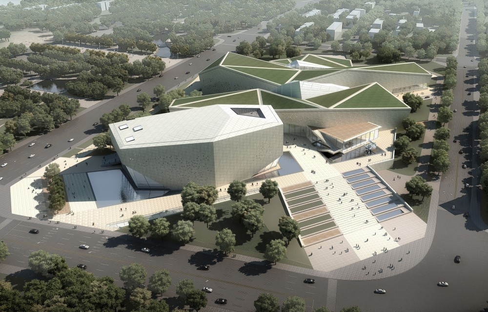Huaihua Theater and Exhibition Center Proposal / United Design Group