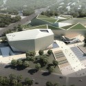 Huaihua Theater and Exhibition Center Proposal (2) Courtesy of United Design Group