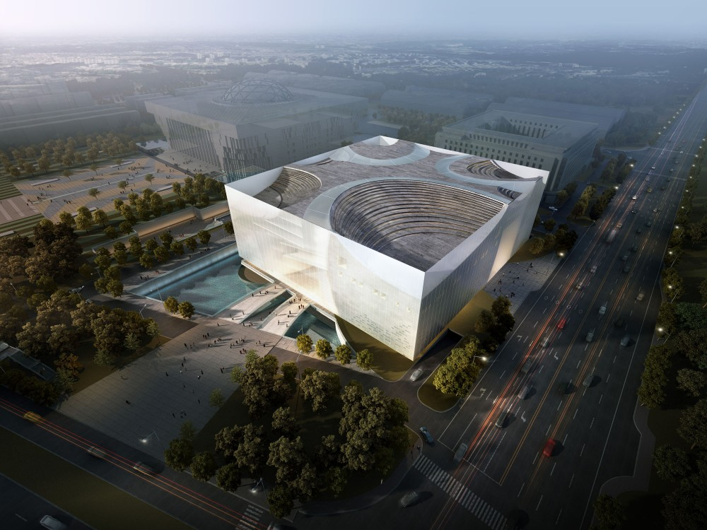Jinan Contemporary Art Museum Proposal / United Design Group
