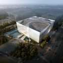 Jinan Contemporary Art Museum Proposal (1) Courtesy of United Design Group
