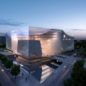 Jinan Contemporary Art Museum Proposal (2) Courtesy of United Design Group